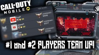 The #1 and #2 Ranked Players FINALLY TEAM UP in COD Mobile! (Warning Nuclear Bomb)