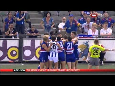 2013 Round 7 Rascal Of The Week - Crowd Members At Nth Bulld
