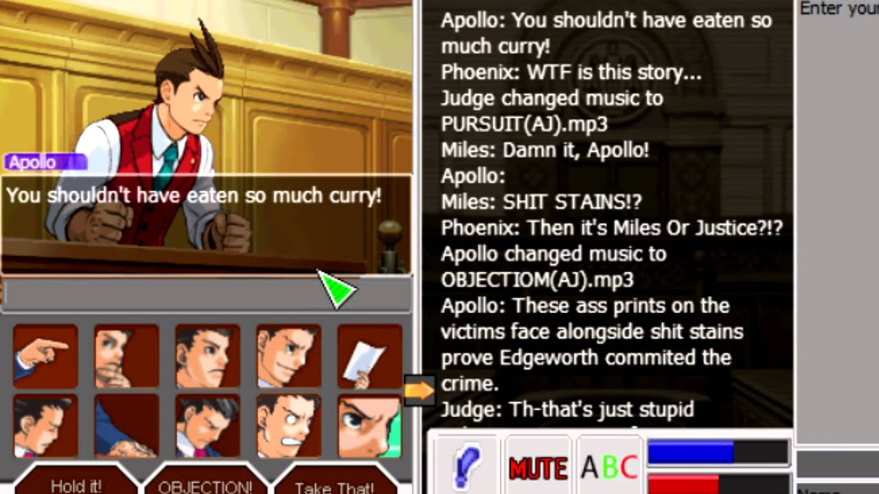 Ace Attorney Online Edgeworth