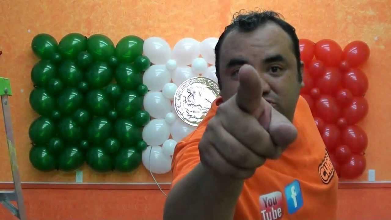 Cactus con globos chasty youtube - Hacer decoraciones con globos ...