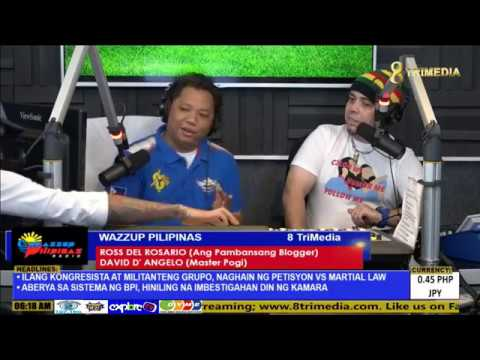 Wazzup Pilipinas Radio Episode 5   Philippine Independence Day Special