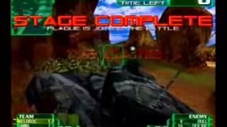 Alien front online Seganet Game footage (2001)