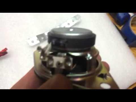 Toyota Dash Speaker Upgrade - Tweeters