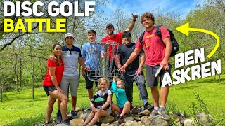 Disc Golf Battle at Funky Farms | Ben Askren & Brodie Smith vs. Paul McBeth & Hannah McBeth