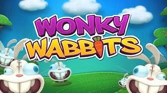 Free Wonky Wabbits slot machine by NetEnt gameplay ★ SlotsUp