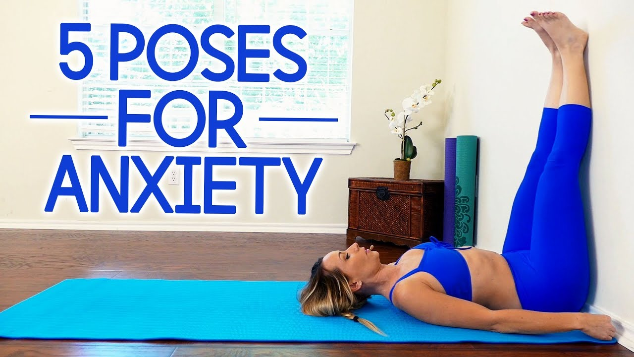 The 31 Best Yoga Poses for Anxiety with Becca ♥ Stress Relief, Back Pain,  Relaxation