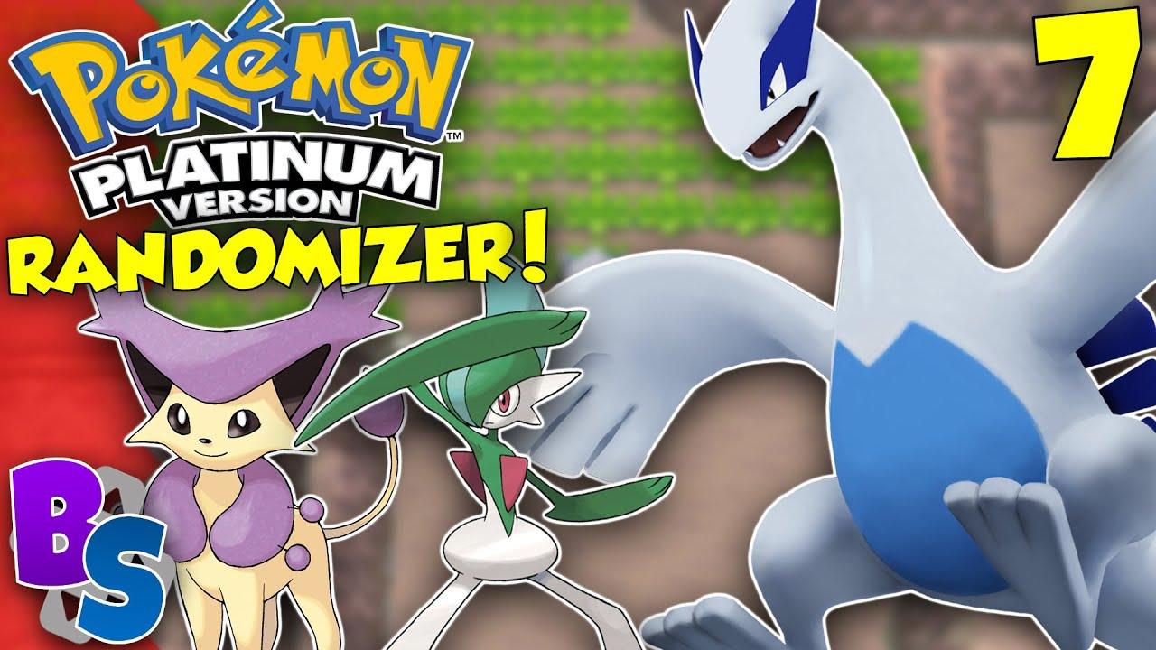 SURPRISE LUGIA (Pokemon Platinum Randomizer) - Button Smashers!