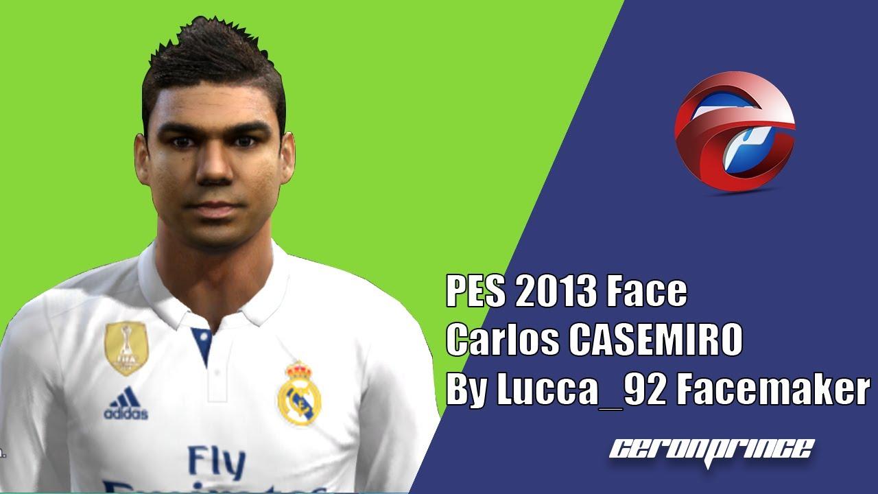 PES 2013] NEW FACE & HAIR CASEMIRO 2017 18