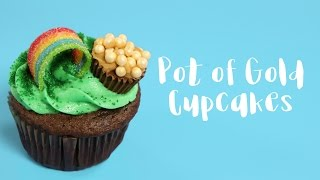 How to make Pot of Gold Cupcakes | ShopWithScrip