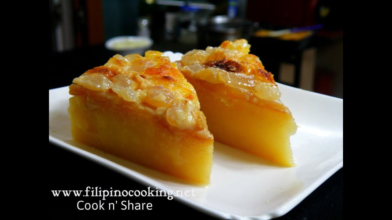 Cassava cake filipino recipes