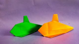 잠수함 종이접기 How to Make Easy Paper Origami Submarine