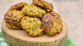 Rosti di patate e zucchine al Forno - Frittelle di verdure - Ricette che Passione