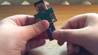 Обзор+Распаковка #1 Фигурка Стива из Minecraft