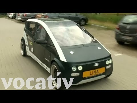 Ultralight Electric Car Made Of Beets And Flax