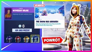 FREE SKINS! WINTER OFFICIALLY IN FORTNITE! | Information