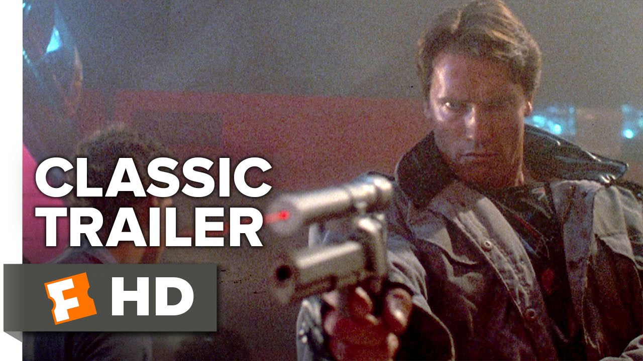 The Terminator (1984) Official Trailer - Arnold Schwarzenegger |Movie| Film | Video