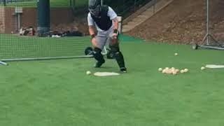 Matt Nichols  - Blocking  - 2018 Stanford Baseball Camp