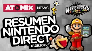 Resumen Nintendo Direct – #AtomixNews [01/09/16]