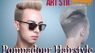 Pompadour Hairstyle