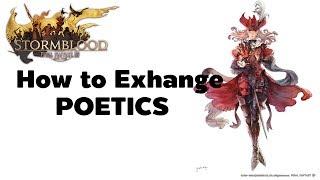 FFXIV 4.0 How to Exchange Allagan Tomestone Lore & Scripture