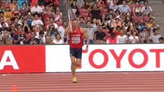 Adam Sebastián Helcelet oštěp Mistrovství světa v atletice  2015 Peking