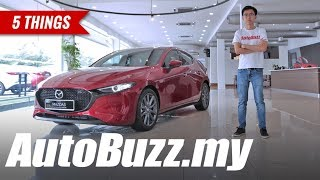 The all-new Mazda3, 5 Things - AutoBuzz.my
