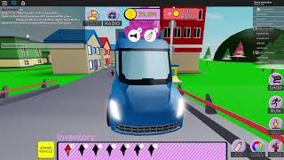Spelar Ice cream van simulator | Roblox SWE