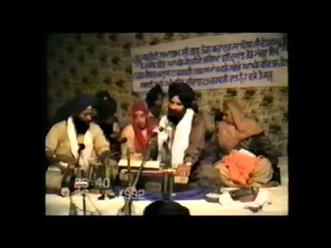 Bhai Tejinderpal Singh (Doola Jee) Old India Recording