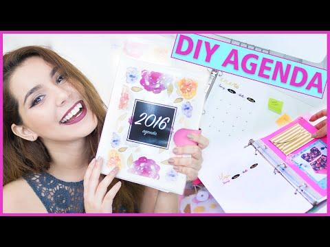 DIY AGENDA 2016 para imprimir gratis (Haz tu propia agenda fácil y bonita) ♥ Jimena Aguilar