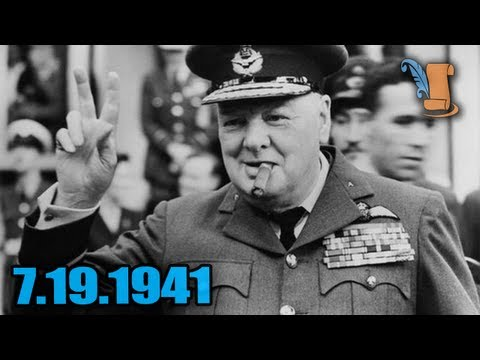A Day In History: Winston Churchill's V For Victory