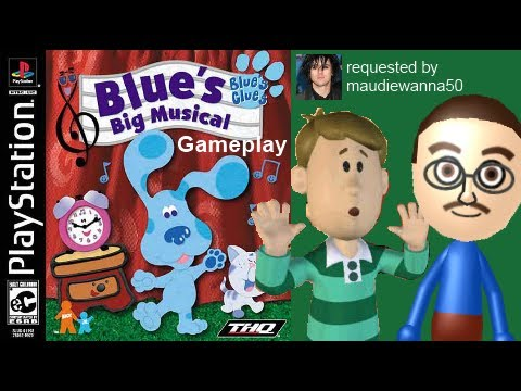 Blue S Clues Blue S Big Musical Playstation Gameplay