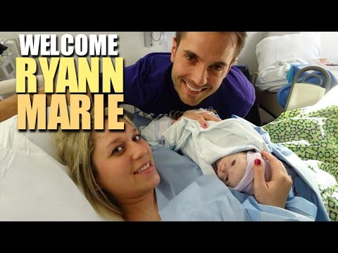 WELCOME RYANN MARIE!! BIRTH VLOG!!