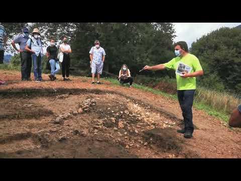 VÍDEO Novedades en la excavación del castro de Antrialgo