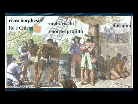 L'economia-mondo e la tratta degli schiavi