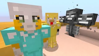 Minecraft Xbox - Ocean Den - Battling The Wither One-Handed! (64)