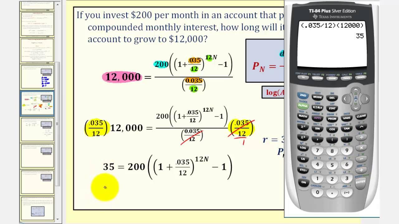 loan formula