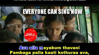 AADI PONA AAVANI (ATTAKATHI) KARAOKE VIDEO SONGS