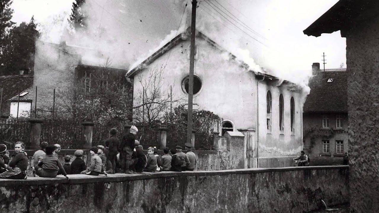 Reichskristallnacht Synagoge - YouTube