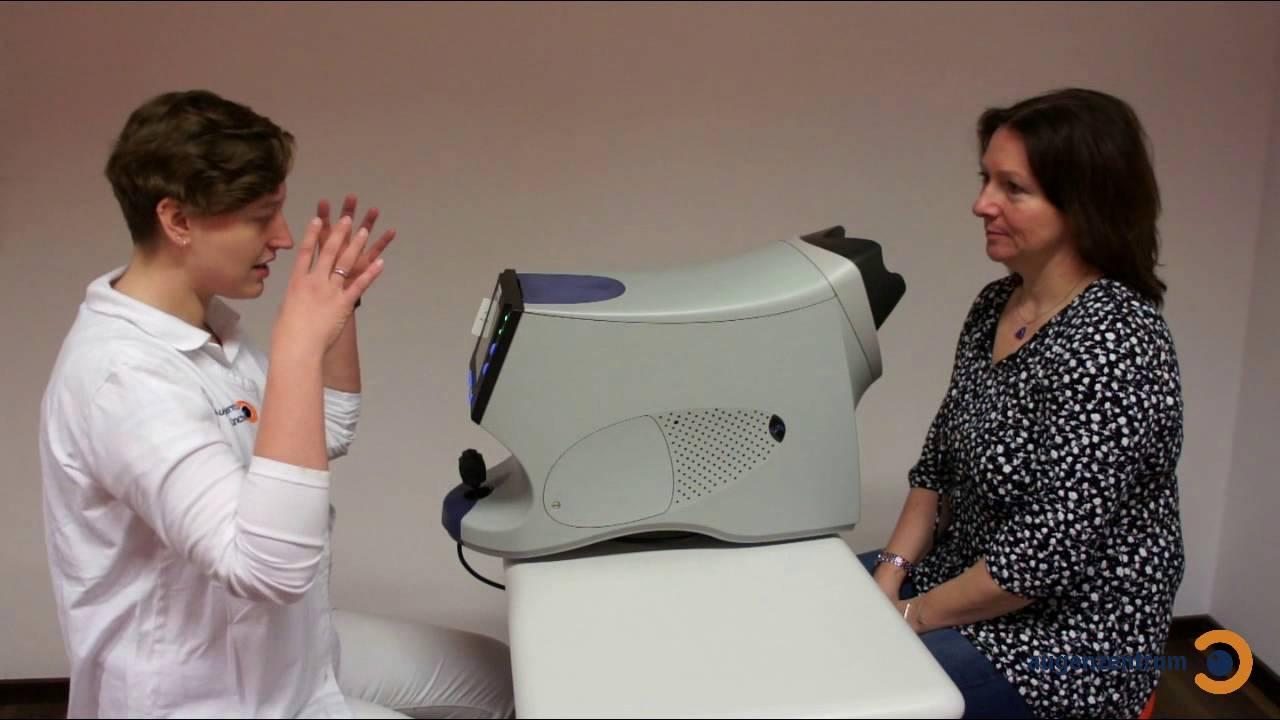 Glaukomuntersuchung mit GDx - Augenzentrum in München