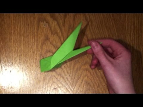 Origami flower stem tutorial youtube origami flower stem tutorial mightylinksfo