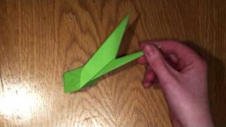 Origami :: Flower Stem (Tutorial)