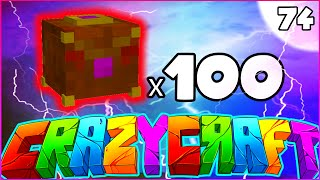 "Minecraft CRAZY CRAFT 3.0 SMP - ""100 PANDORA"