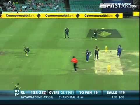 CB Series 6th ODI, AUS vs SL: Mahela Jayawardene 61* off 67 balls