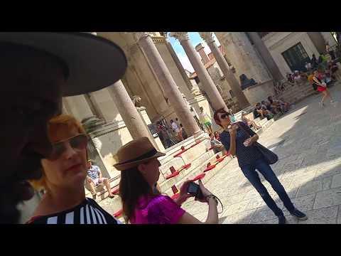 Split Croatia walking old city tour