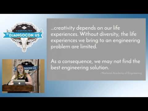 "DjangoCon US 2015 - Keynote: ""Diversity: We're Not Done Yet"" by Lynn Root"