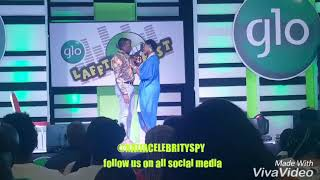 Bovi Mercy Johnson and Kanayo O kanayo had a Romantic stage play  So Humorous