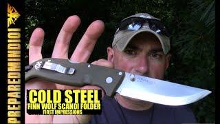 Cold Steel Finn Wolf Scandi Folder: First Impressions - Preparedmind101
