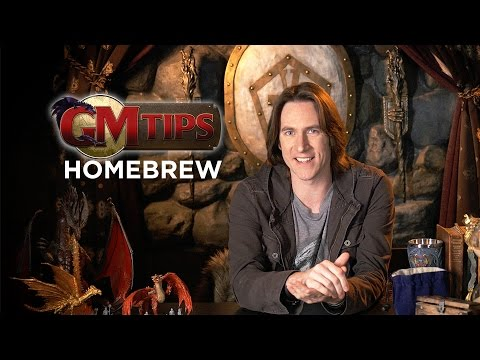 Creating Homebrew Content in RPGs! (GM Tips w/ Matt Mercer)