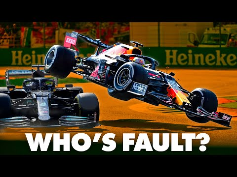Max vs Lewis: Who's at Fault? | The F1 Breakdown | Italian Grand Prix