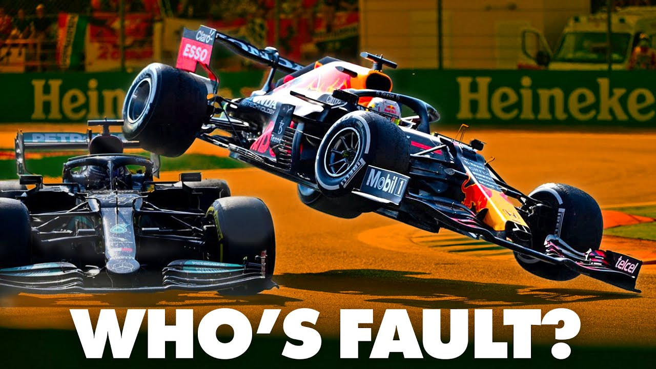 PlayTube Sports: The F1 Italian Grand Prix: Max vs Lewis: Who's at Fault?